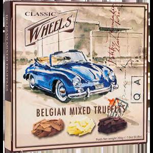 Belgian mixed truffles 200g Classic wheels