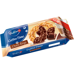 Choco rings coffee time Bahlsen 155g