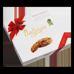 Belgian Caramel medallions