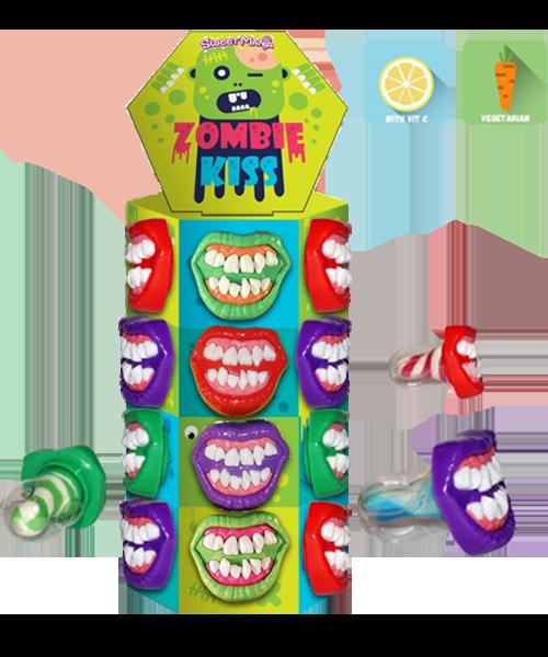 Zombie kiss lollipop 13g Sweet Mania