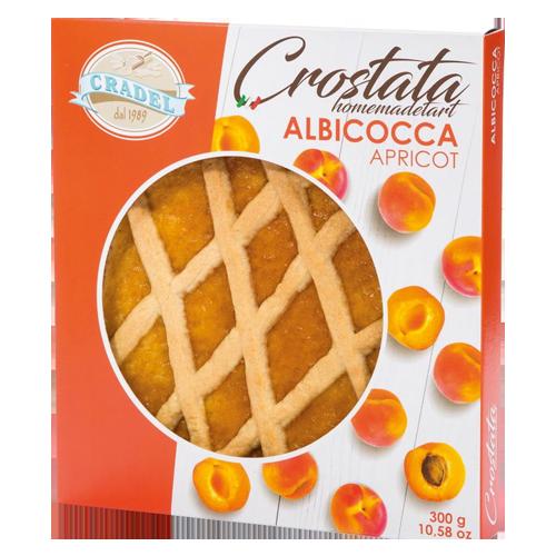 Crostata Apricot Cradel 300g