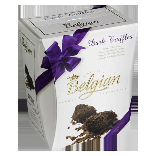 Belgian Chocolate pralines with ribbon 100g The Belgian