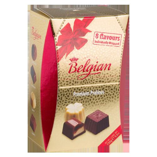 Pralines premium golden box The Belgian 150g