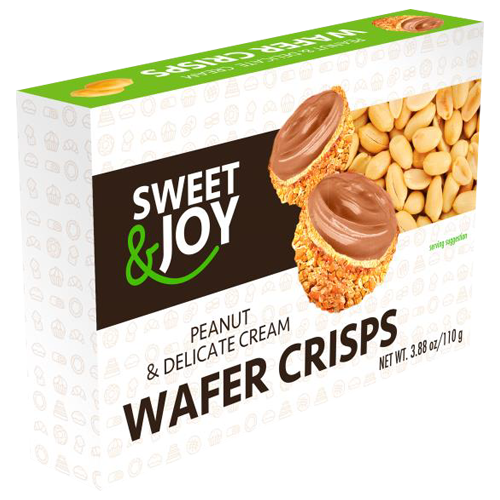 Vafel kuglice sa kikiriki kremom 110g Sweet&Joy
